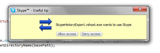 how to clear skype message history